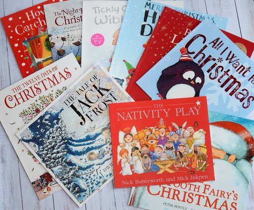 Фото Christmas collection - 10 illustrated books.