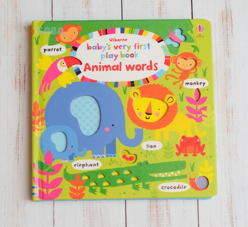 Фото Baby's Very First Play book Animal words.