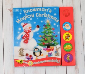Snowman's Magical Christmas - With 4 Christmas Sounds!