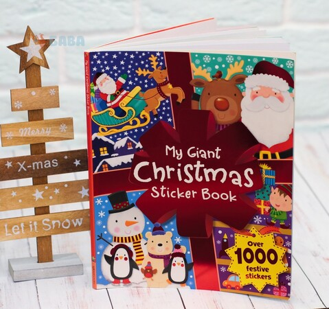 My Giant Christmas Sticker Book - over 1000 festive stickers