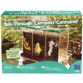 Now You See It, Now You Don't™ See-Through Compost Container