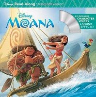 Moana. Read-Along Storybook & CD