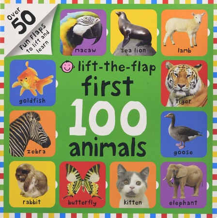 Фото First 100 Animals Lift-the-Flap.