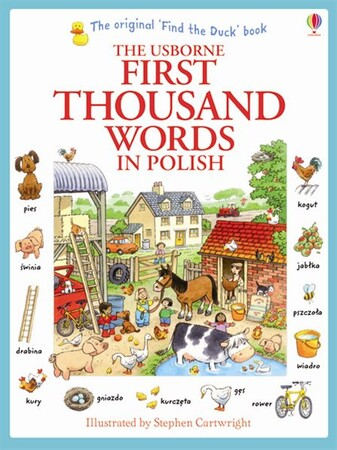 Фото First thousand words in Polish.
