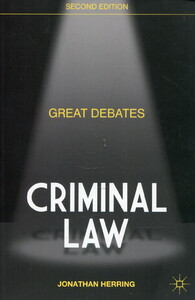 Great Debates in Criminal Law