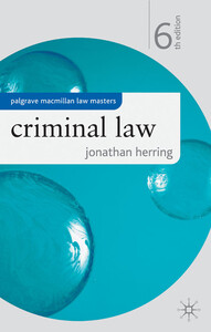 Criminal Law 6 th edition