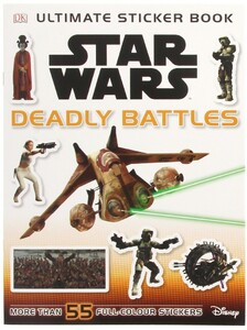 Star Wars Deadly Battles Sticker Book