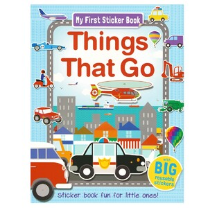 Things That Go Sticker book