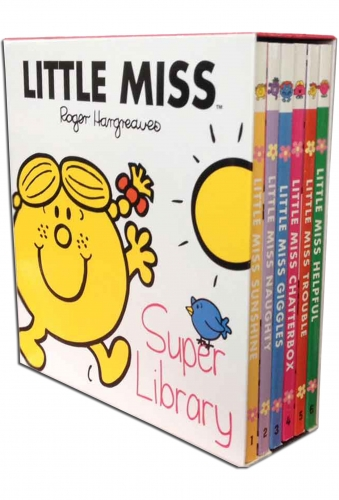 Little Miss Super Library - 6 книг в комплекте
