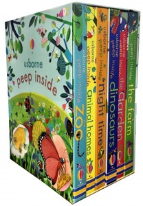 Usborne Peep Inside Collection (6 книг в наборе)