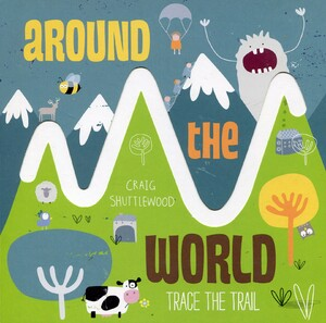 Around the World. Trace the Trail