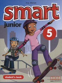 Smart Junior 5 Students Book with Culture Time for Ukraine FREE