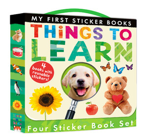 My First Sticker Books: Things to Learn