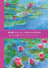 Monet Waterlilies Eco Writer's Notebook