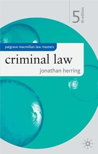 Criminal Law  5 th edition