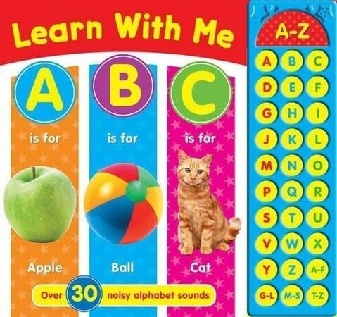 Фото Learn With Me ABC - Sound book.
