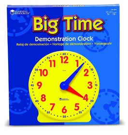 Big Time™ Learning Clocks® Demonstration Clock