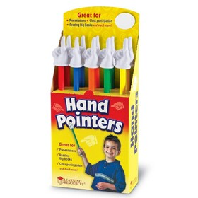Student Hand Pointers (Set of 10)