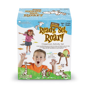 LIMITED STOCK - Wild About Animals Ready, Set, Roar! Classroom Activity Set