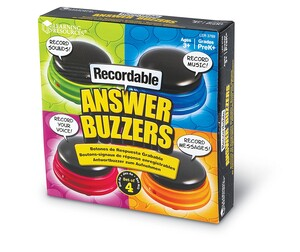 Recordable Answer Buzzers (Set of 4)