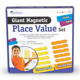 Giant Magnetic Place Value Demonstration Set