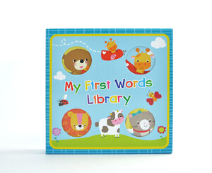 My First Words Library Collection - 4 Books