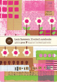 Lucie Summers Writer's Notebooks. Set of three