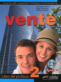 Vente 2(B1). Libro del profesor + CD audio