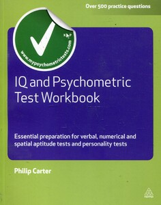 IQ and Psychometric Test Workbook: Essential Preparation for Verbal, Numerical and Spatial Aptitude Tests, and Personality Tests