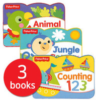 Fisher-Price: Chunky Boards Collection - 3 Books