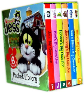Guess with Jess Pocket Library 6 Board Books Collection