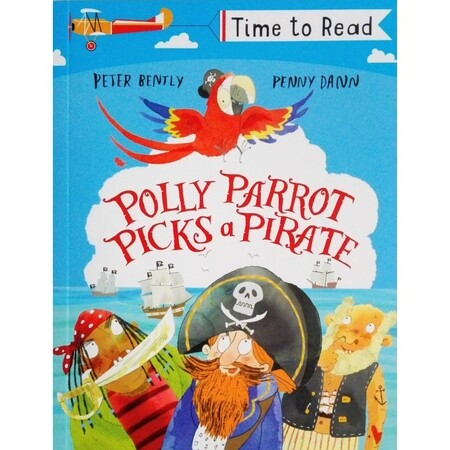 Фото Polly Parrot Picks a Pirate - Time to read.
