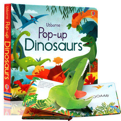 Фото Pop-up Dinosaurs - Usborne.