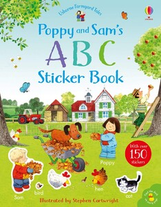 ABC sticker book - Usborne