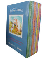 The Railway Rabbits Collection Georgie Adams 6 Books Set Pack
