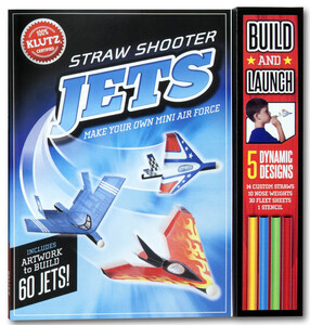 Straw Shooter Jets: Make your own mini air force