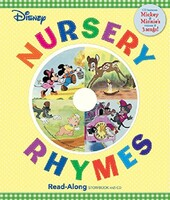 Disney Nursery Rhymes + CD