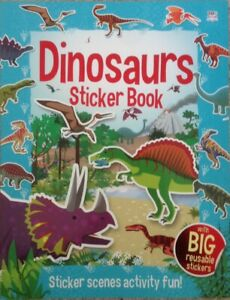 Фото Dinosaurs sticker book.