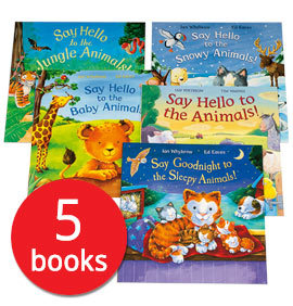 Say Hello to the Animals Collection - 5 Books