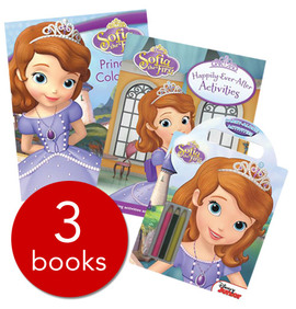 Sofia the First Activity Collection - 3 books