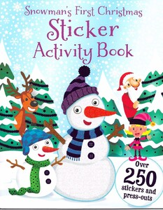 Snowman's First Christmas Sticker Activity Book
