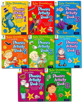 Songbirds Phonics Activity Collection - 8 Books (Oxford University Press)