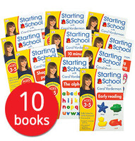 Starting School with Carol Vorderman Collection - 10 Books