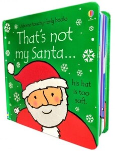 That's not my Santa (Touchy-Feely Board Books)