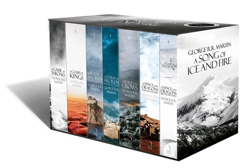 A Song of Ice and Fire Boxed Set (1-7) [Paperback]