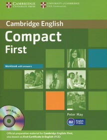 Compact First Workbook with answers (+ CD)