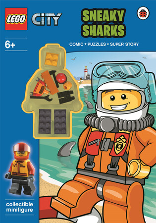 Фото LEGO City: Sneaky Sharks Activity Book with Minifigure.