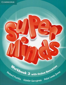 Super Minds Level 3 Workbook with Online Resources