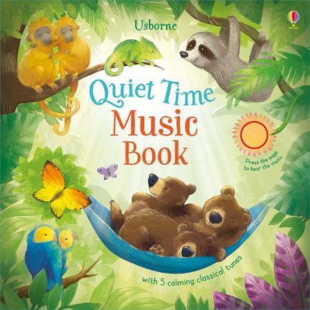 Quiet time music book книга
