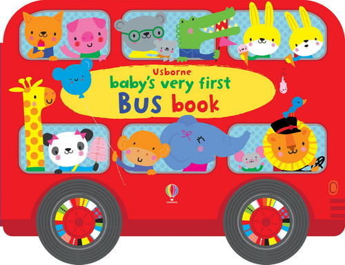 Baby's very first bus book книга